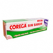 Corega crema extra fuerte sin sabor - adhesivo protesis dental (40 ml)