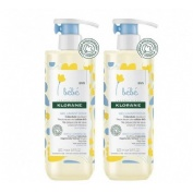 Klorane bebe gel limpiador suave (pack 500 ml 2 u)