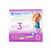 Farmaconfort girls compresas de algodon (noche 10 u)