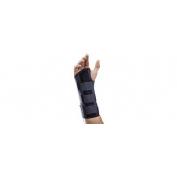 Orliman muñequera palmar larga negra dcha (mf-d61/1)