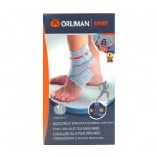 Orliman sport tobillera elastica graduable (os621/1)