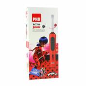 Cepillo dental electrico - phb active junior (rojo)