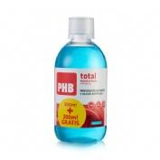 Phb total enjuague bucal (300 + 200 ml)