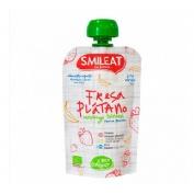 Smileat eco pouch de fresa y platano 100gr