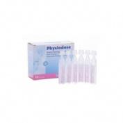 Physiodose suero fisiologico (monodosis 5 ml 18 u)