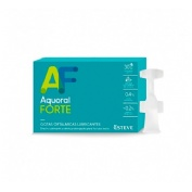 Aquoral forte - gotas oftalmicas lubricantes esteriles (0.5 ml 30 monodosis)