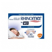 Rhinomer by breathe right - tira adh nasal (clasicas t- peq-med 30 u)