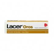 Lacer oros 2500 pasta dentifrica (75 ml)