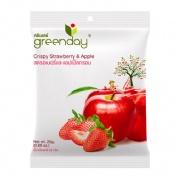 Green day strawberry & apple chips 25gr