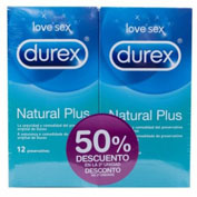 DUREX DUPLO NATURAL PLUS