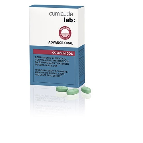 Cumlaude lab: advance oral (30 comprimidos)
