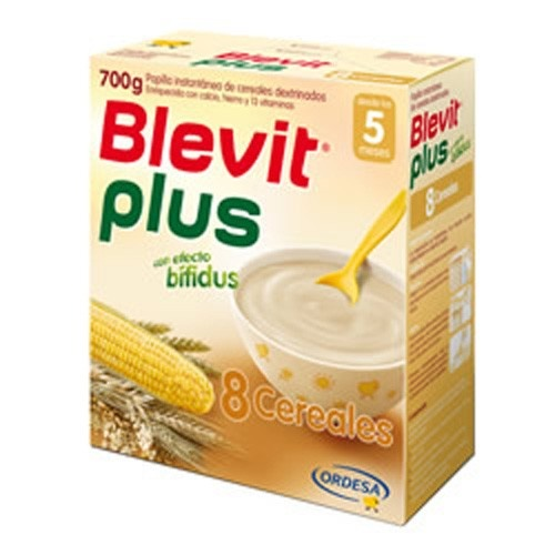 Blevit plus 8 cereales (1 envase 600 g)