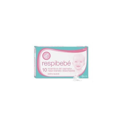 Respibebe kit completo aspirador nasal bebe (10 recambios)