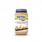 Nutriben innova frutas de temporada con galleta (potito 235 g)