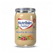 Nutriben recetas tradicionales - menestra de cordero (1 potito 235 g)
