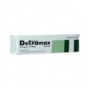 DETRAMAX 2,5 mg/g + 15 mg/g POMADA , 1 tubo de 30 g