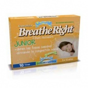 Rhinomer by breathe right - tira adh nasal (junior 10 u)