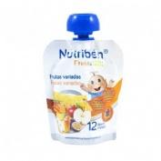 Nutriben fruta & go frutas variadas (90 g)