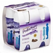 Pediasure drink (200 ml 4 botellas chocolate)