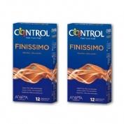 Control finissimo - preservativos (12 u 2 envases)