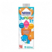 Nestle junior crecimiento 1+ galleta maria (1000 ml)