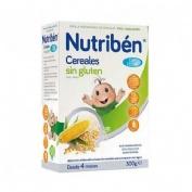Nutriben cereales sin gluten papilla leche adapt (300 g)