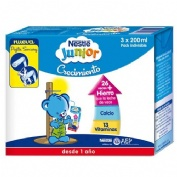 Nestle junior crecimiento 1+ original (brik 200 ml 6 u)