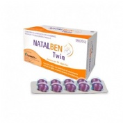 Natalben twin (30 capsulas)