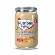 Nutriben ternera con patatas y zanahorias (1 potito 235 g)