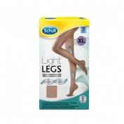MEDIAS E.T. CINT COMP LIGERA 20 DEN - SCHOLL LIGHT LEGS (CARNE T- XL)