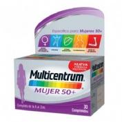 Multicentrum mujer 50+ (30 comprimidos)