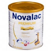 Novalac premium 1 leche para lactantes 400 g