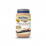 Nutriben innova suprema de merluza con verduras (235 g)