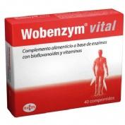 Wobenzym vital (40 comprimidos)