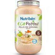 Nutriben eco pollo con verduras selectas (potito grandote 250 g)