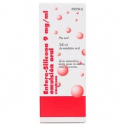 ENTERO SILICONA 9 mg/ml EMULSION ORAL , 1 frasco de 250 ml
