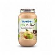 Nutriben eco seleccion platano y manzana (potito grandote 250 g)