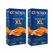 Control finissimo xl - preservativos (12 unidades + 12 unidades pack ahorro)
