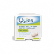 TAPONES OIDOS CERA - QUIES (NATURAL 16 U)