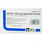 DIFUR 120 mg CAPSULAS DURAS , 96 cápsulas