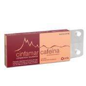 CINFAMAR CAFEINA 50 mg/50 mg COMPRIMIDOS RECUBIERTOS , 4 comprimidos