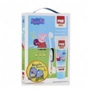 PACK PHB PETIT GEL DENTIFRICO INFANTIL + CEPILLO (C/ REGALO PEPPA)