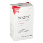 HEPRO POMADA RECTAL , 10 canuletas de 15 ml