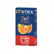 Control 2in1 finissimo - preservativos (6 u)