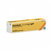 DICLOKERN 11,6 mg/g GEL , 1 tubo de 60 g