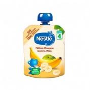 Nestle naturnes platano manzana (bolsita 90 g)